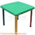 Vendo mesas infantiles de plastico para fiestas