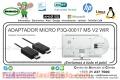ADAPTADOR MICRO P3Q-00017 MS V2 WIR