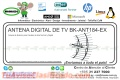 ANTENA DIGITAL DE TV BK-ANT184-EX