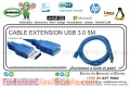 CABLE EXTENSION USB 3.0 5M