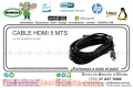 CABLE HDMI 5 MTS