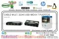 CABLE MULT. 32245 USB IMEXX 7 PUERTOS