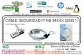CABLE SEGURIDAD P/ NB IMEXX (25301)
