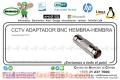 CCTV ADAPTADOR BNC HEMBRA-HEMBRA