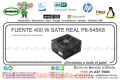 FUENTE 400 W SATE REAL P8-545K8