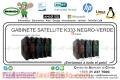 GABINETE SATELLITE K333 NEGRO-VERDE