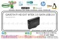 GAVETA P/ HD EXT MTEK 3.5 SATA USB 2.0