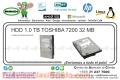 HDD 1.0 TB TOSHIBA 7200 32 MB