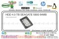 HDD 4.0 TB SEAGATE 5900 64MB