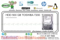 HDD 500 GB TOSHIBA 7200