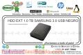 HDD EXT 1.0 TB SAMSUNG 3.0 USB NEGRO