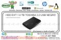 HDD EXT 1.0 TB TOSHIBA 3.0 USB NEGRO