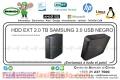 HDD EXT 2.0 TB SAMGUNG 3.0 USB NEGRO