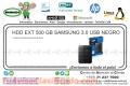 HDD EXT 500 GB SAMSUNG 3.0 USB NEGRO