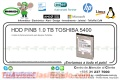 HDD P/NB 1.0 TB TOSHIBA 5400