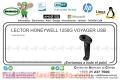LECTOR HONEYWELL 1250G VOYAGER USB