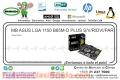 MB ASUS LGA 1150 B85M-D PLUS S/V/R/DVI/PAR