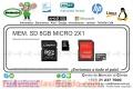 MEM. SD 8GB MICRO 2X1
