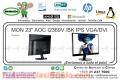 """MON 23"""" AOC I2369V /BK IPS VGA/DVI"""