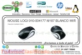 MOUSE LOGI 910-004177 M187 BLANCO WIR