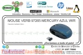 MOUSE VERB 97265 MERCURY AZUL WIR