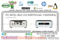 PC INTEL NUC CI3 5I3RYH/LGA 1155/DDR3L