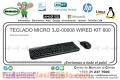 TECLADO MICRO 3J2-00008 WIRED KIT 600