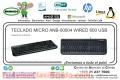 TECLADO MICRO ANB-00004 WIRED 600 USB
