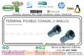 TERMINAL P/CABLE COAXIAL (1 ANILLO)