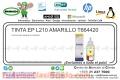 TINTA EP L210 AMARILLO T664420