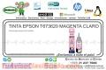 TINTA EPSON T673620 MAGENTA CLARO