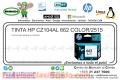 TINTA HP CZ104AL 662 COLOR/2515