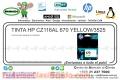 TINTA HP CZ116AL 670 YELLOW/3525