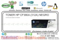 TONER HP CF380A (312A) NEGRO