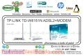 TP-LINK TD-W8151N ADSL2+MODEM