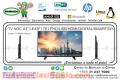 "TV AOC 43"" LE43F1761 FHD/USB/HDMI/DIGITAL/SMART/WI"
