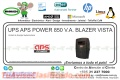 UPS APS POWER 850 V.A. BLAZER VISTA