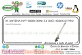 W. ANTENA HYP 12DBI OMNI 5.8 GHZ HG5812U-PRO