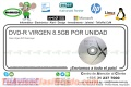 DVD-R VIRGEN TUBO 8.5GB POR UNIDAD