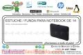 ESTUCHE / FUNDA PARA NOTEBOOK DE 14