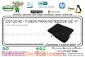 ESTUCHE / FUNDA PARA NOTEBOOK DE 17