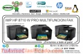 IMP HP 8710 W PRO MULTIFUNCION FAX
