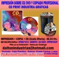 Centro  de impresiones y grabaciones de CD / DVD