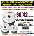 Empresa de impresiones y grabaciones de CDs DVDs