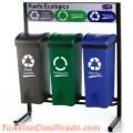 Basureros y puntos ecologicos