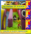 INFLABLES DE ALQUILER EN EL VALLE Y QUITO