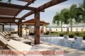 Apartamentos en planos en santiago con piscina