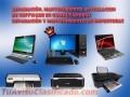 Reparación y mantenimiento de computadoras e impresoras, instalación de software