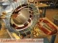Servicio de Rebobinado de motores y fabricacion de tableros electricos
