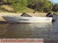 VENDO LANCHA GRAND JEAN CON MERCURY 40HP MOD 2000 INCLUYE TRAILER